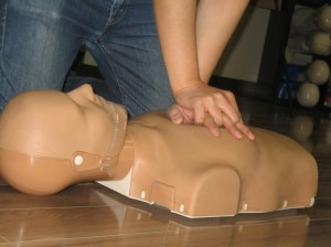 CPR in first aid classes