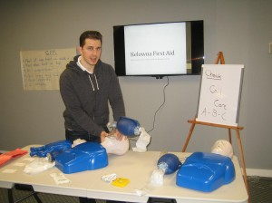 First aid classes in Kelowna