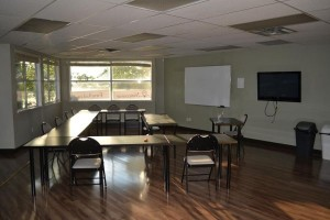 Lecture and training room